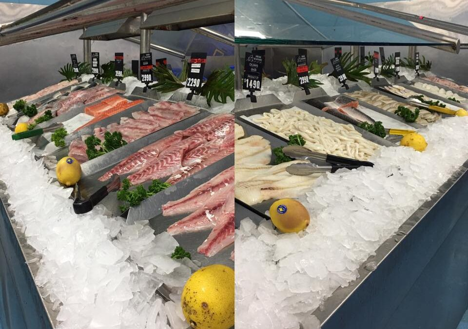 18 varieties of fresh fish fillets today