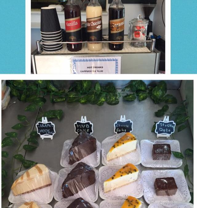 Coffee and Cake Now Available