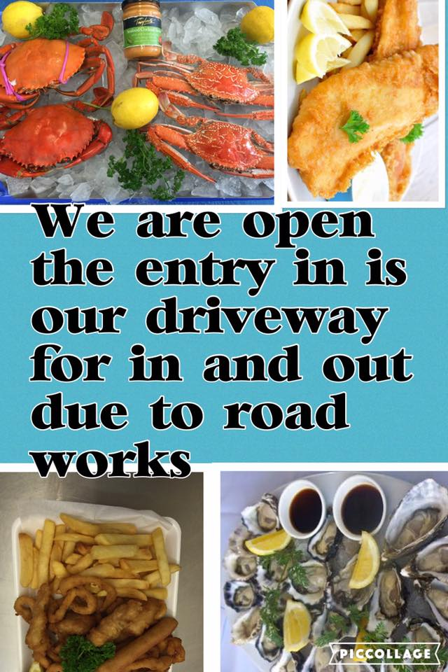 n and out due to road works